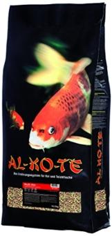 AL-KO-TE, 1-Jahreszeitenfutter für Kois, Sommermonate, Schwimmende Pellets, 6mm, Hauptfutter Multi Mix, 13,5 kg - 1