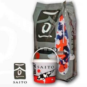 Koifutter 2x Saito Professional 15kg Futter + gratis ein Koi Buch kaufen