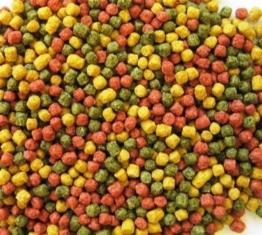 Koifutter AL-Profi-Futter Mix rot/gelb/grün d 3 mm 15 kg