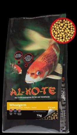 Koifutter Alkote Koifutter Wheatgerm (1 kg / Ø 3 mm) Futter für Frühjahr/Herbst kaufen