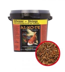 Koifutter Alkote Süßwasser - Shrimps (175 g) Garnelen mit Astaxanthin für Teich