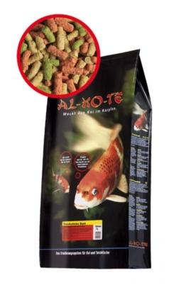 Koifutter Alkote Teichsticks bunt mit Vitalsticks (5 kg / 4 mm) für alle Teichfische kaufen