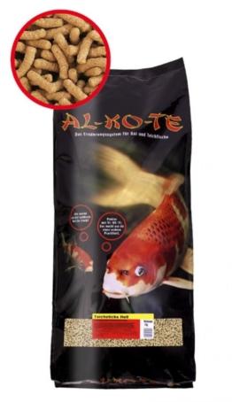 Koifutter Alkote Teichsticks hell (5 kg / 4 mm) für alle Teichfische kaufen