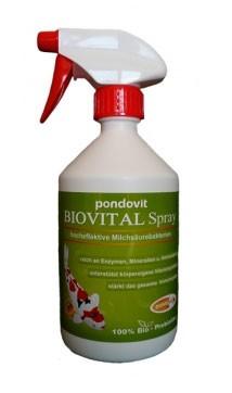 Koifutter BIOVITAL Spray 500 ml pondovit kaufen