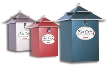 Koifutter Futterautomat Koi-Cafe rot kaufen