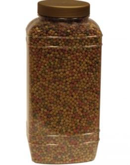 Koifutter HOCHWERTIGES BASISFUTTER FÜR ZIERFISCHE Basic 15Kg Medium (± 40 Liter) Pellets (6mm) kaufen