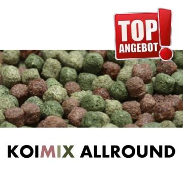 Koifutter KOI PONDLIFE Koifutter Allround Ø 3-6mm gemischt 5 Sorten Mix Koifutter Fischfutter 15 Kg kaufen