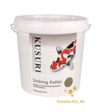 Koifutter Kusuri Sinking Pellet Futter 5 kg (Ø 3-4mm) auch für Stör kaufen