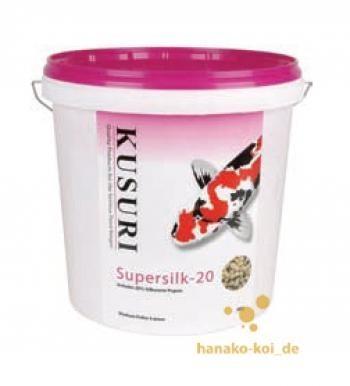Koifutter Kusuri Super Silk 20 Koifutter 5 kg (Ø 4-5mm) Spezialrezeptur kaufen