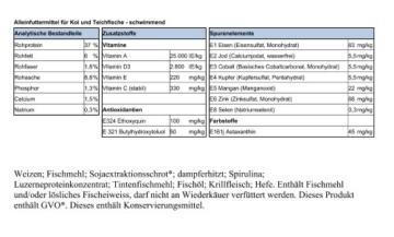 15kg Spirulina 7% Koifutter Granulat 6mm - zur excelenten Farbbildung - 2
