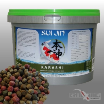 4,2 kg(10L) Karashi Premium Koifutter 3mm - Premiumfutter, bestes Koifutter mit idealem Protein/Fett Gehalt - 1