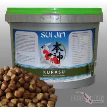 4,2kg(10L) Kurasu Koifutter Wachstumsfutter 6mm - angereichert mit signifikantem Protein - 1