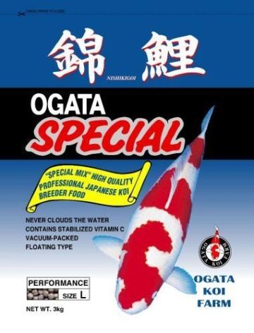 Ogata Special Performance 15kg L Koifutter Farbfutter Frühjahr/Sommer Futter