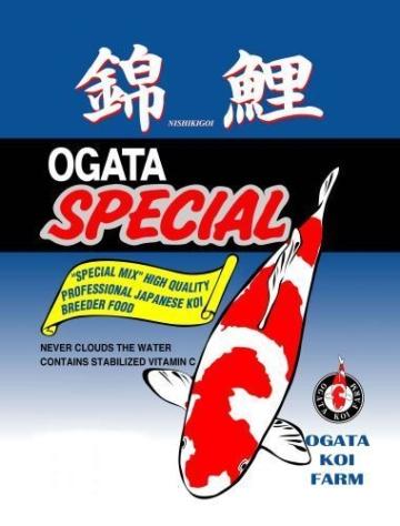 Ogata Special Performance sinking 20kg L Koifutter Fischfutter Winter Farbfutter
