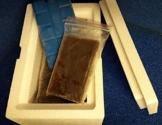 5 x 100 gr. Tafel Artemia Züchterware neutral Spitzenqualität, Frostfutter. - 1