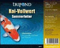 Koifutter TRIPOND Koi Vollwert Sommer schwimmend 5mm 20kg kaufen