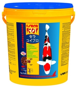 Sera 07009 KOI Professional Frühjahr-/Herbstfutter 7 kg - das leicht verdauliche Futter für Temperaturen unter 17 °C - 1