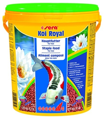 Sera 07123 KOI ROYAL MEDIUM 21 l - Hauptfutter für ein ausgewogenes Wachstum von Koi zwischen 12 und 25 cm - 1