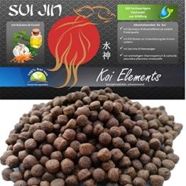 SUI JIN Teichprodukte 10kg Koi Elements - Körnung 4,5mm - Koifutter der neuen Generation - 1