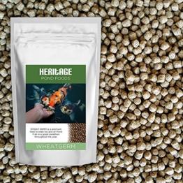Heritage Wheat Germ Fischfutter-Kügelchen für Koi-Fische - 1