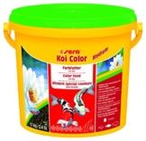 Sera 07021 Koi Color Medium 3,8 Liter (4 mm) Das Farbfutter für farbenprächtige, Vitale Koi Zwischen 12 und 25 cm - 1