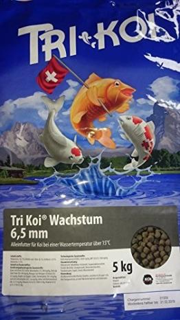 Tri Koi Wachstum - Qualitäts-Koifutter - 6,5 mm (10 kg) - 1
