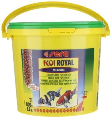 sera 07117 KOI ROYAL MEDIUM 3800 ml - Hauptfutter für ein ausgewogenes Wachstum von Koi zwischen 12 und 25 cm - 7