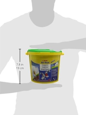 sera 07117 KOI ROYAL MEDIUM 3800 ml - Hauptfutter für ein ausgewogenes Wachstum von Koi zwischen 12 und 25 cm - 8