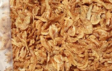 Riesengarnelen, Sommerfutter für Koi, Tomodachi XXL Shrimps, getrocknete gigantisch große Süßwassergarnelen 3-5cm, Tomodachi Koileckerli, optmal für die Handfütterung der Koi im Sommer, für vitale, zahme und zutrauliche Koi, 5 Liter Eimer - 2