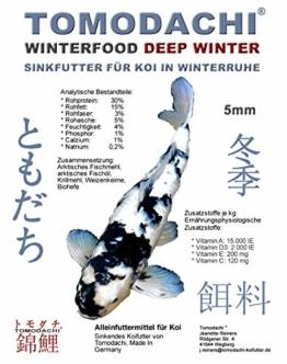 Koifutter, Winterfutter, Sinkfutter für Koi in Winterruhe, schnell sinkend, kräfteschonend, energiereich mit arktischen Rohstoffen, hochverdaulich auch bei Kälte, Koiwinterfutter Deep Winter 10kg 5mm - 1