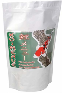 Koimenue® Koi-Color 38/12 EX + 6% Spirulina 7 kg - 1