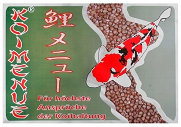 Koimenue® Koi-Color 38/12 EX + 6% Spirulina 7 kg - 4