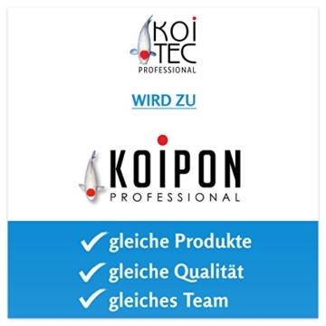 KOIPON Koifutter Winter, sinkend, 5-6mm, 3kg, extrem energiehaltiges Sinkfutter, frisch in Deutschland produziert - Koi Futter auch für Frühling - 4