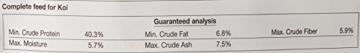 sera 07013 KOI Professional Frühjahr-/Herbstfutter 2200 g - Das leicht verdauliche Premium-Futter für Temperaturen unter 17 °C - 2