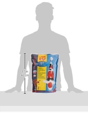 sera 07013 KOI Professional Frühjahr-/Herbstfutter 2200 g - Das leicht verdauliche Premium-Futter für Temperaturen unter 17 °C - 12