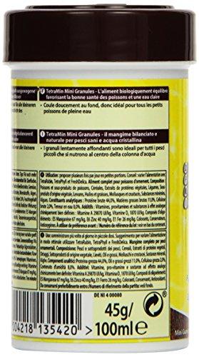 TetraMin Mini Granules (Hauptfutter in Granulatform für kleine Zierfische wie z.B. Salmler und Barben), 100 ml Dose - 3
