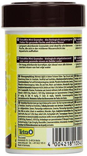 TetraMin Mini Granules (Hauptfutter in Granulatform für kleine Zierfische wie z.B. Salmler und Barben), 100 ml Dose - 4
