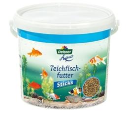 Dehner Aqua Teichfischfutter Sticks, 5 l - 1