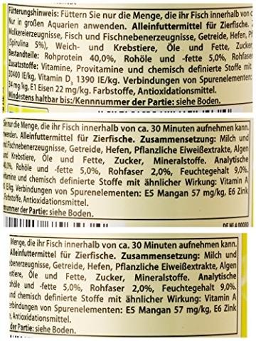 Tetra Pleco Tablets (Grünfutter-Tabletten mit einem hohen Anteil an Spirulina-Algen, Hauptfutter für alle pflanzenfressenden Bodenfische und scheuen Zierfische), 275 Tabletten Dose - 2