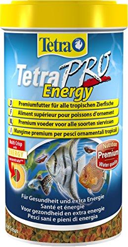 Tetra Pro Energy Premiumfutter (für alle tropischen Zierfische, mit Energiekonzentrat für extra Wohlbefinden, Vitaminstabilität und hoher Nährwert), 500 ml Dose - 4