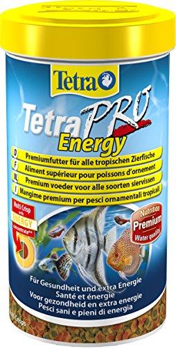 Tetra Pro Energy Premiumfutter (für alle tropischen Zierfische, mit Energiekonzentrat für extra Wohlbefinden, Vitaminstabilität und hoher Nährwert), 500 ml Dose - 1