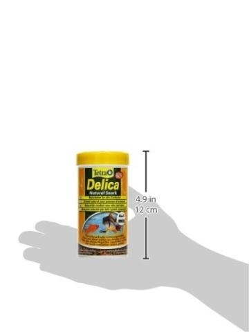 TetraDelica Natural Snack 4-in-1-Mix, Naturfutter-Mischung vier separaten Fächern für alle Zierfische, 250 ml Dose - 6