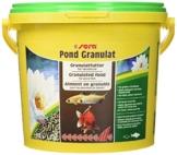 sera 07175 pond granulat 3800 ml - Hauptfutter in Stickform und schwimmfähig für alle Teichfische - 1