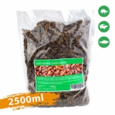 Svänimal Getrocknete Seidenraupen 2,5 Liter - Premium Qualität - 1