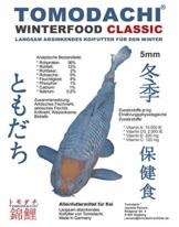 Tomodachi Koifutter, Winterfutter Koi, energiereiches Sinkfutter für Koi, langsam sinkend mit arktischen Rohstoffen, hochverdaulich speziell bei Kälte, Koi Sinkfutter, Winterfood Classic 5mm 5kg - 1