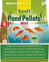 Tetra Pond Pellets Mini – Hauptfutter für alle Teichfische, schwimmfähige Futter Pellets für die tägliche Fütterung, verschiedene Sorten - 1