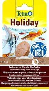 TetraMin Holiday Ferienfutter, Gelfutterblock Fischfutter für eine ausgewogene Ernährung aller Zierfische über einen längeren Zeitraum, 30 g - 1
