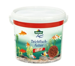 Dehner Aqua Teichfischfutter Color, 5 l - 1
