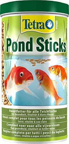 Tetra Pond Sticks - Fischfutter für Teichfische, für gesunde Fische und klares Wasser, verschiedene Größen - 1