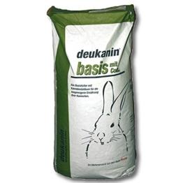 Deukanin Basis Kaninchenfutter m. Cocc 25 kg - 1